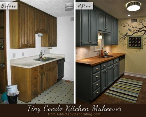 How To Makeover Kitchen Cabinets Before After My Kitchen Finally Finished Small Kitchens Cabinets And Countertops