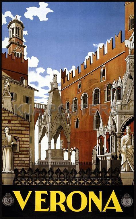 imagenes vintage italia verona italy travel poster italian vintage travel