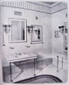 Vintage bathroom from the 1920 s from studio garden and bungalow
