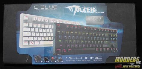 Keyboard E Blue Mazer K727 e blue mazer k727 mechanical keyboard review modders inc