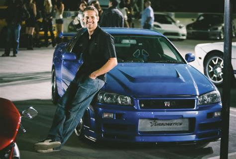 nissan skyline fast and furious paul walker fast and furious 4 paul walker car pixshark com