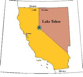 california map lake tahoe strayer gardener page 9
