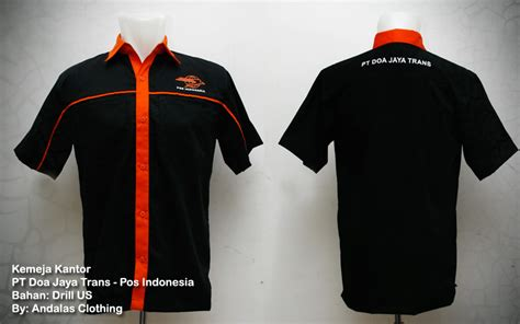 Kaos Underground Nfs Polo Shirt kemeja seragam kantor pos indonesia sablon kaos murah bordir kaos murah profesional garansi