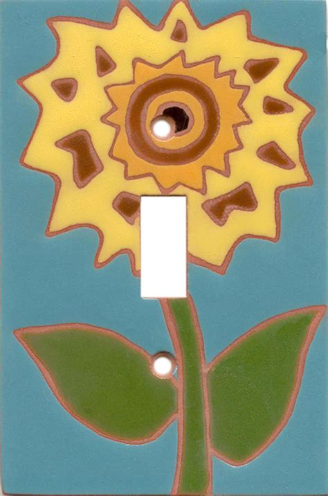 teal light switch cover teal sunflower light switch covers outlet covers