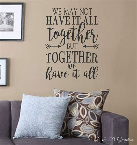 words for the wall home decor 17 best vinyl wall quotes on family wall