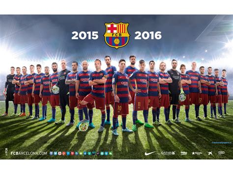 barcelona wallpaper hd 2015 16 fc barcelona squad 2015 16 football team wallpapers