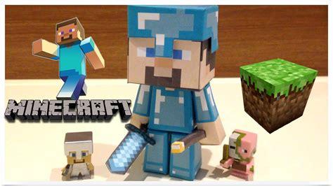 Minecraft Papercraft Review - minecraft steve papercraft doll review