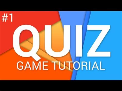game design quiz how to make a quiz game in unity e01 ui tutorial