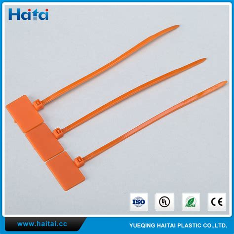 Cable Ties With Label Tag Pengikat Kabel Dg Label Tag 25 X 110 Mm haitai manufacturer quality cheap price marker