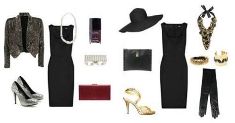 Black And White Chandelier Black Dress Accessories Should Wear
