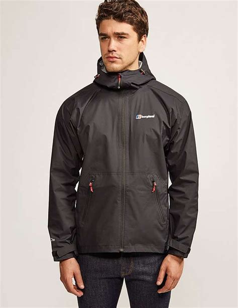 Jaket Hoodie Waterproof Liverpool Black 17 best images about berghaus on crew neck shells and trousers