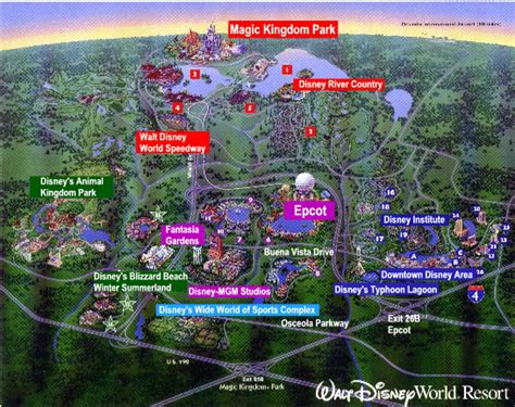 disney world orlando map with hotels discount vacation rentals maps
