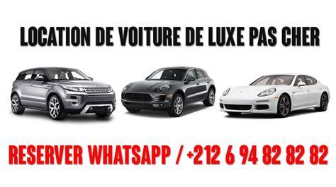 locations de voitures de luxe sur 224 casablanca