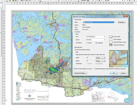 arcmap layout view page size arcgis desktop changing page settings in layout view in