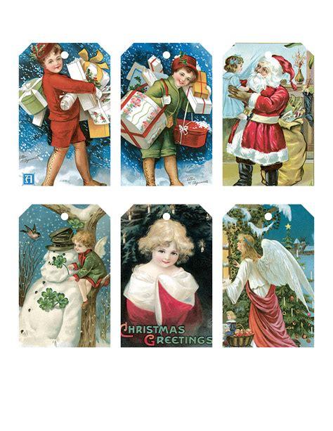 printable christmas cards vintage vintage printable christmas card tags the graffical muse