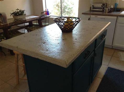 Concrete Overlay Countertops - concrete countertop island directcolors countertop