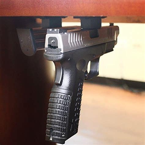 under desk gun safe tactical quick draw gun magnet concealed pistol holder