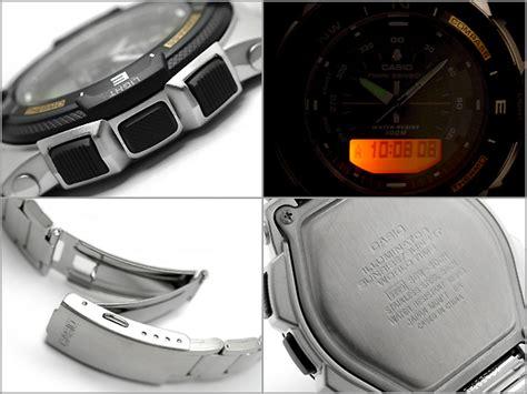 Casio Sgw 500 Tali Jam Tangan Casio Sgw 500 casio sports altimeter jam tangan pria silver