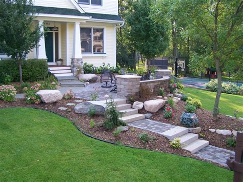 Front Yard Patio Design Beautiful Functional Retaining Walls Great Goats Landscapinggreat Goats Landscaping