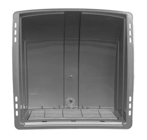 attic fan vent cover camco rv and enclosed trailer roof vent cover w