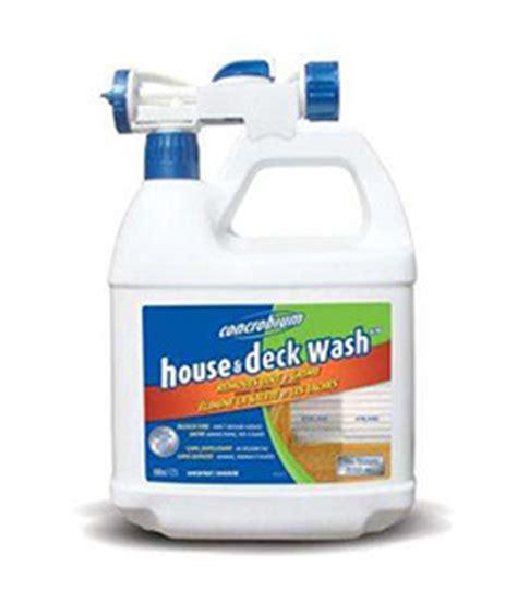 house deck wash concrobium