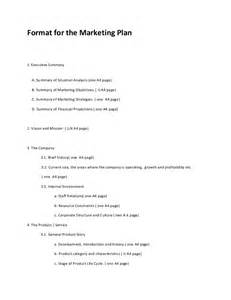 Advertising Caign Plan Outline by Marketing Plan Format 2013