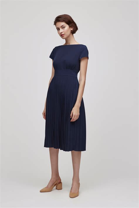 boat dress boat neck dress our second nature