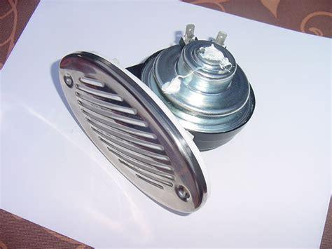 boat horn boat horn stainless steel cover 12 volt new oval shape ebay