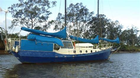 catamaran for sale sunshine coast cruising yacht colvin gazelle 42 ft on deck 45 000 cp
