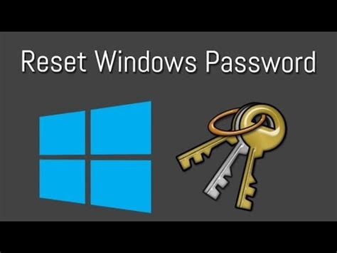 Reset Administrator Password Windows 7 Youtube | reset administrator password of windows 7 8 10 all version