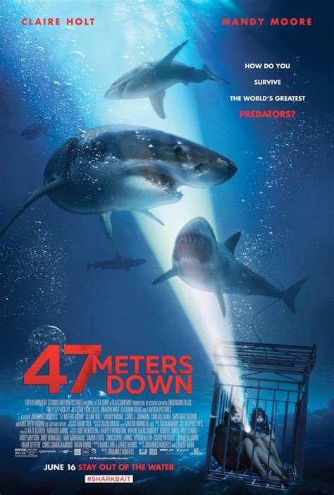 47 meters to feet first trailer for trapped inside a shark cage movie 47