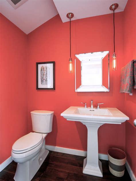 coral bathroom home design ideas pictures remodel  decor