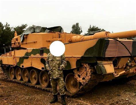 Siria Leopard leopard 2a4 with desert camo in syria turkish ground