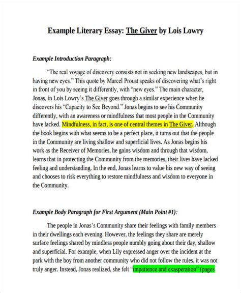 Exles Of Literary Essay by Literary Essay Introduction Literary Analysis Paper Persepolis Ayucar
