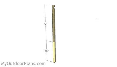 free plans to build this diy trellis clothesline save clothesline plans myoutdoorplans free woodworking