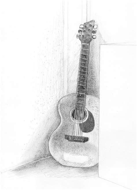 easy guitar book sketch cool drawing ideas 25 awesome arts for inspiration