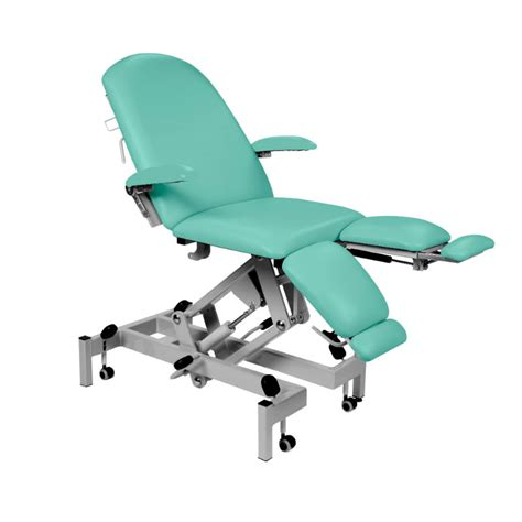 Podiatry Chair by Sunflower Mint Fusion Hydraulic Podiatry Chair