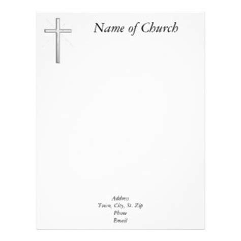 Church Letterhead Zazzle Church Letterhead Templates