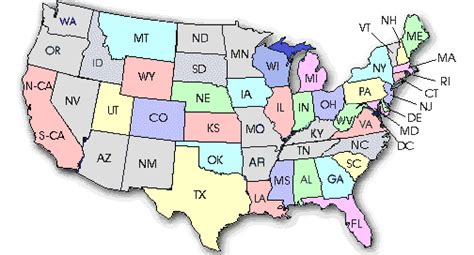 a small map of the united states small paws rescue