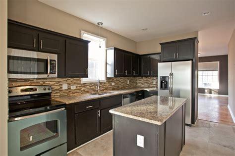 expresso kitchen cabinets york espresso kitchen traditional nashville by