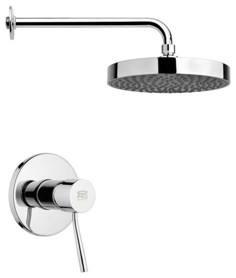 bathtub shower faucet sets round shower faucet set chrome contemporary tub and shower faucet sets by