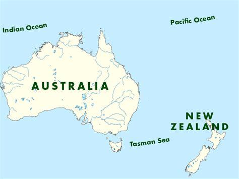 map of australia and nz australia new zealand a k international