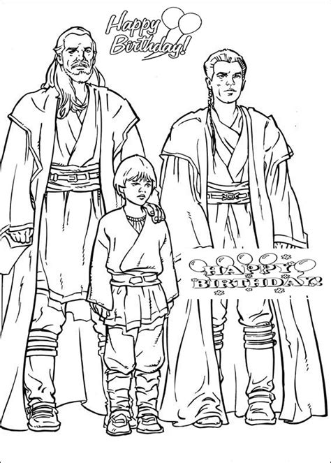 happy birthday star wars coloring pages 50 top star wars coloring pages online free