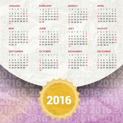 printable banner calendar 2016 template banner happy new year 2016 free printable