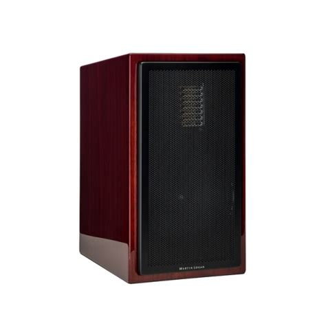 martin logan motion 35xt bookshelf speaker in gloss cherry