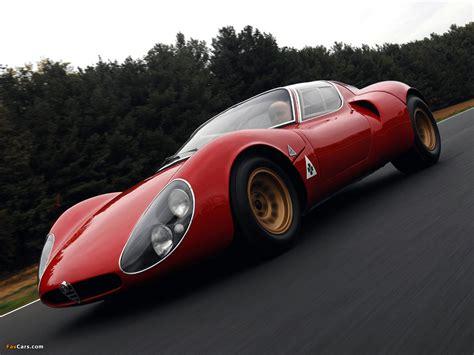 alfa romeo tipo 33 preis alfa romeo tipo 33 stradale prototipo 1967 photos 1280x960