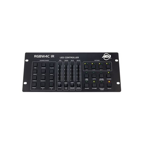 american dj light controller american dj rgbw4c ir lighting 32 channel rgba or rgbw led