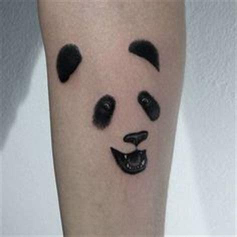 panda effect tattoo panda tattoos panda bear tattoo tattoo design bear tattoos
