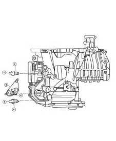 Chrysler Transmission Parts Sensors Transmission