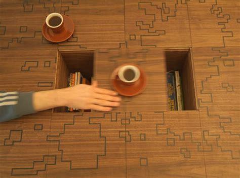 puzzle on secret compartment table stashvault